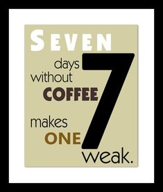 Coffee Drinker LOGIC