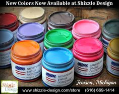 American Paint Company Chalk Clay New Colors Shizzle Design