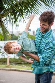 Look infantil e masculino - Coleção Pais 2015 | AD Lifestyle