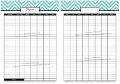 Printable Budget Planner/Finance Binder Update - All About Planners Weekly Budget, Budget Binder, Budget Planner, Printable Budget Sheets, Spending Tracker, Daily Planners, Family Budget, Word Of Advice, Budgeting Money