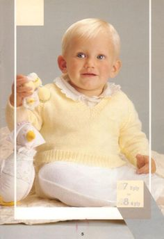 Patons 792 10 Baby Knits Patterns - Free Baby Knitting Kids Knitting Patterns, Baby Cardigan Knitting Pattern, Knitting For Kids, Baby Patterns, Free Knitting, Baby Knitting, Crochet Patterns, Knit Baby Sweaters, Knitted Baby Blankets