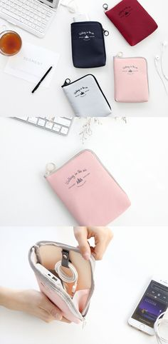 It's a great idea to store small items like cables, earphones, USB sticks, external battery and many others in a cable pouch, to keep your bag stay more organized! This well-made cable pouch has many wonderful features to store items neatly and protect them securely.