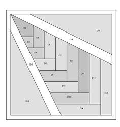 Free Paper Piecing Quilt Patterns | ... - grandmas quilt to be FREE paper piecing pattern | Casual Crafter