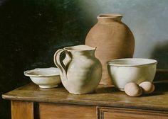 Los Simples Elementos, óleo sobre lienzo, 50x70 cm, 1995.  www.juanlascano.com.ar