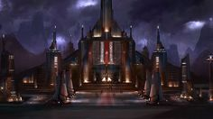 Star Wars The Old Republic Concept Art: Dromund Kaas