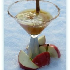 Cidertini- This martini is fantastic even on a cold day!