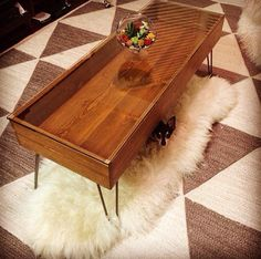 Urban Outfitters Inspired Hairpin Leg Coffee Table | Made in KC MO USA | Table