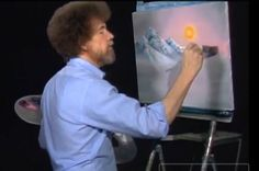 "Here's a remix of Bob Ross' ""Happy Little Cloud"". Here is a remix by Bob Ross & # ""Happy little cloud"". Painting Lessons, Art Lessons, Beautiful Paintings Of Nature, Bob Ross Quotes, Cincinnati News, Bob Ross Paintings, The Joy Of Painting, Painting Workshop, Pictures To Paint"