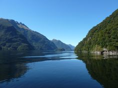 New Zealand, Doubtful Sound. Doubtful Sound is a very large and naturally imposing fiord (despite its name) in Fiordland, in the far south west of New Zealand. It is located in the same region as the smaller but more famous Milford Sound.