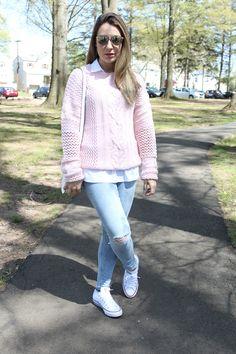 look feminino jeans e sueter - Pesquisa Google