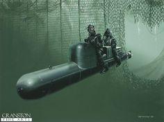 "Italian WW2 ""Combat Divers Decima Mas"""