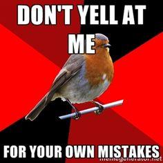 Exactly! Retail Robin meme