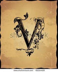letter v - Search