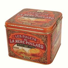 La Mere Poulard - Palets Butter Cookies From France, Gift tin 17.5 oz - http://mygourmetgifts.com/la-mere-poulard-palets-butter-cookies-from-france-gift-tin-17-5-oz/