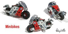 minibikes | A three-point view of one of Meccano's mini-mode… | Flickr