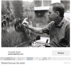 El artista Robert Duncan. Al principio empezó con cuadros de indios americanos...¡Es un buenazo!!! ¡QUIERO UNA PINTURA DE EL!!!