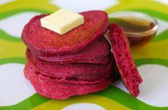 Red Beet Pancakes — Punchfork