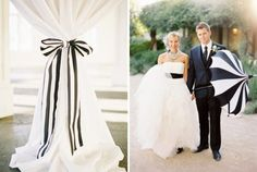 Image issue du site Web http://www.mariee.fr/images_dossier/1306077894e37f113407-mariage_rayures_noir_blanc_1-644x320.jpg