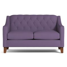 If you've been holding out for romance in an age of quickie dating apps, then the Jackson Apartment Size Sofa belongs in your living room. With detailed tufting, majestically swooped arms and a rolled back, the Jackson shows you're ready to settle down a bit without giving up your sense of glamor and passion. Its smaller size makes it great for small rooms - and for cuddling up close to your partner. Which one did Kyle Schuneman really design it for? We'll never tell.