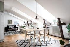 living room dining room attic