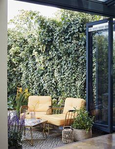 Create The Ultimate Garden Room - Dear Designer Modern Outdoor Furniture, Patio Furniture Sets, Outdoor Rooms, Garden Furniture, Outdoor Living, Outdoor Decor, Patio Heater, Small Garden Design, Garden Spaces