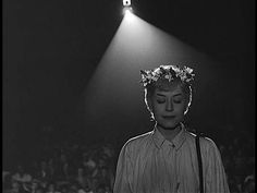 Fellini's Nights of Cabiria. Cabiria gets hypnotized and gets heartbreakingly vulnerable