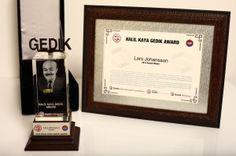 """Uluslararası Kaynak Federasyonu (IIW) tarihinde, Türkiye tarafından kaynak bilimi ve teknolojisi alanında verilen ilk ve tek uluslararası ödül """"HALİL KAYA GEDİK ÖDÜLÜ"""""""
