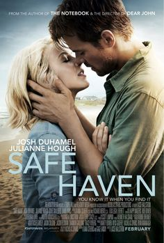 """The film adaptation of """"Safe Haven,"""" a Nicholas Sparks novel, was filmed in Southport and is set to release in February It stars Julianne Hough and Josh Duhamel. So excited for another Nicholas sparks book to become a movie! Josh Duhamel, See Movie, Movie Tv, Crazy Movie, Safe Haven Book, Book Safe, Safe Haven Film, Film Romance, Drama Film"""