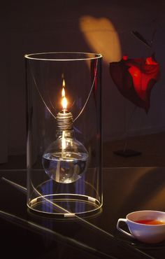 Light bulb and bottle re-use