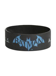 Best Bracelet 2017/ 2018 : Batman: Arkham Origins Rubber Bracelet | Hot Topic