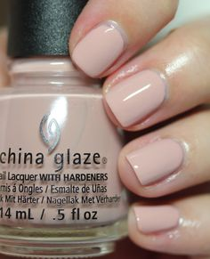 China Glaze's Note to Selfie Shades of Nude Collection Spring 2017