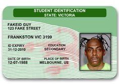Vic novelty ID card #noveltyid #novelty