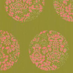 Tres Tintas Barcelona Nostalgie Cerclé 33' x 21'' Floral And Botanical Tile Wallpaper | AllModern