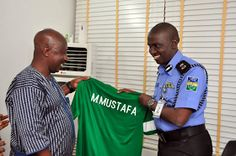 NFF delegation led by NFF General secretary Dr. Mohammed Sanusi paid a couresy visit to the new Commissioner of Police (FCT Command) CP Mohammed Mustafa to discuss ways to enhance security in football events within the country. The NFF also handed a Super Eagles jersey to the commissioner and outlined the football body's plans to foster better relationship between the police and the NFF. Security is a very key component in the organization of football and sporting events.'' Sanusi said on…