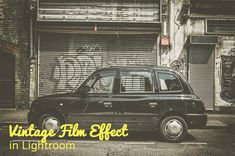 Step-by-step tutorial: How to Create a Vintage-Film Effect in Lightroom #lightroom