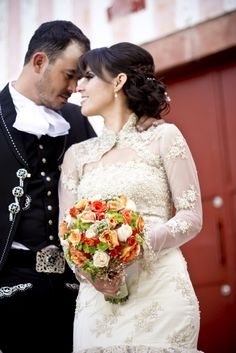 Vestidos de novia para fiesta charra