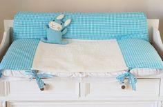 Wickelunterlage für Babys selbernähen! Schritt für Schritt- Anleitung als Gratisdownload ;-)