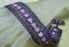Bead Show: Bead Show Workshops & Classes: Thursday June 6, 2013: B130027 Tila Bridge Bracelet