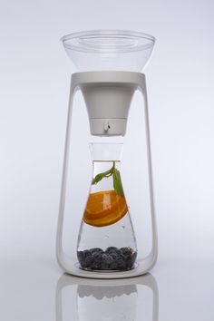 Inspired by the pour-over coffee process, KOR has launched a new in-home water filtration system with water carafes and filters.