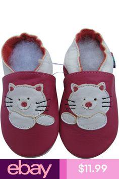 Shoeszoo Teddy Bear rose 18-24 M S semelle souple en cuir chaussures de bébé
