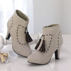 Top Stitched Bootie from Monroe and Main