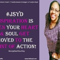 #‎JSYD‬ Message of Move Foward | Change That Stinkin-Thinking Transform your mindset and learn how to Jump-Start Your Day and line up your thoughts, desires and emotions with Positive thinking. RT @Spiritualfoodra Empowerment Coach Author Lá Tanyha Boyd ‪#‎ChangeThatStinkinThinking‬ ‪#‎APositiveMindset‬
