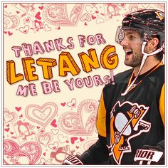 Happy Valentine's Day from the #Pens! #HockeyValentines