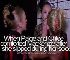 Paige Mackenzie and Chloe