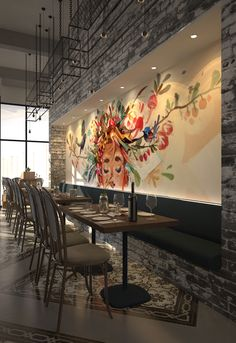 Bonfire Restaurant, Conference Room, Table, Furniture, Home Decor, Decoration Home, Room Decor, Tables, Home Furnishings