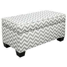 I pinned this Chevron Storage Bench from the Dear Lillie event at Joss & Main!