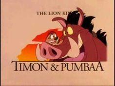Timão e Pumba - Abertura - YouTube