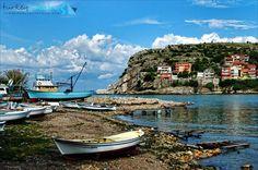 AMASRA Black Sea, Old Buildings, Homeland, Heaven, Sky, Island, History, Places, Nature