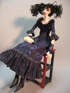 Mrs. Lovett from Sweeney Todd by Julie McCullough