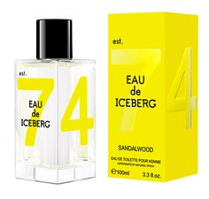Eau de Iceberg Sandalwood for men is a spicy, musky boisé fragrance expressing a reinvented freshness thanks to the combination of sophisticated components and high-quality natural elements.